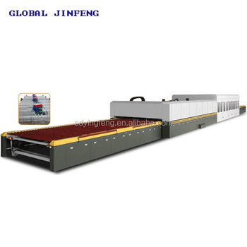 JFG 2436 HOT SALE Flat glass tempering furnace with CE for toughen glass produce