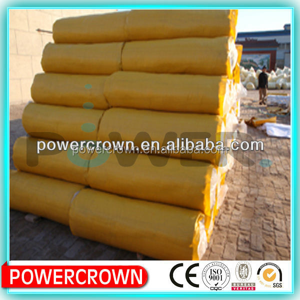 building material for glass wool heat insulation/ eco-friendly material glass wool blanket