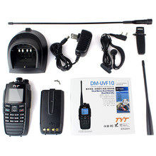 DPMR digital TYT DM-UVF10 VHF+UHF 136-174+400-470MHz 256CH VOX portable stable walkie talkie