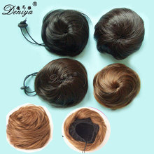 Easy Secure And Fitting Clip In Hair Buns Synthetic Bun Hairpieces Updo