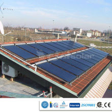 Pressurized Three Target Evacuated tube Commercial Project Solar Thermal Collector for large Project
