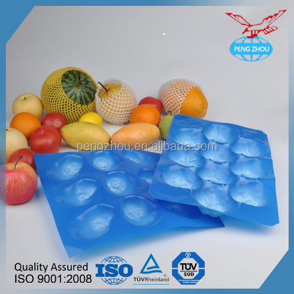 fruit packing tray free sample Plastic Soft Blister Layer/fruit tray Wholesale