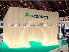 2012 hot selling advertising inflatable tent/exhibition supply/advertising inflatable dome