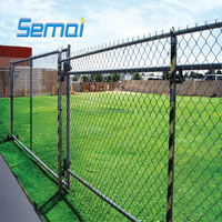 2017 NEW High Quality Hot Sale Garden Buildings Cheap Used PVC Coated Galvanized Chain Link Fencing (ISO9001:2008,MANUFACTURER)