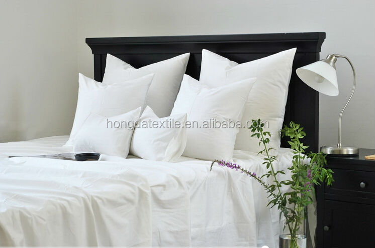 180TC -300TC Cotton cheap hotel bed bedding set / bed sheet / hotel bed linen