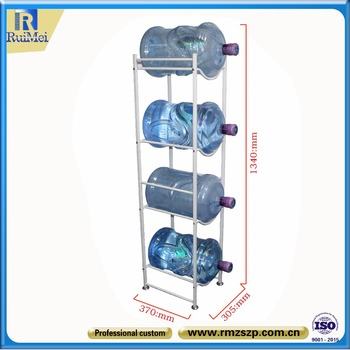 shop Chinese customized metal 5 gallon water bottle storage rack