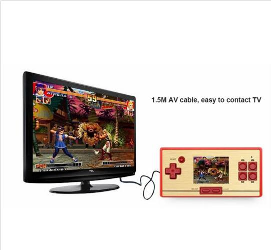 Fashion 2.6 Inch Handheld Game Console Player 600 Classical Different Games Support TV Game Player Control Gamepad