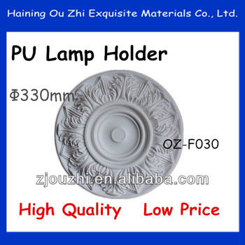 PU Ceiling medallion /Carving Lamp holder/ Home&Interior decoration