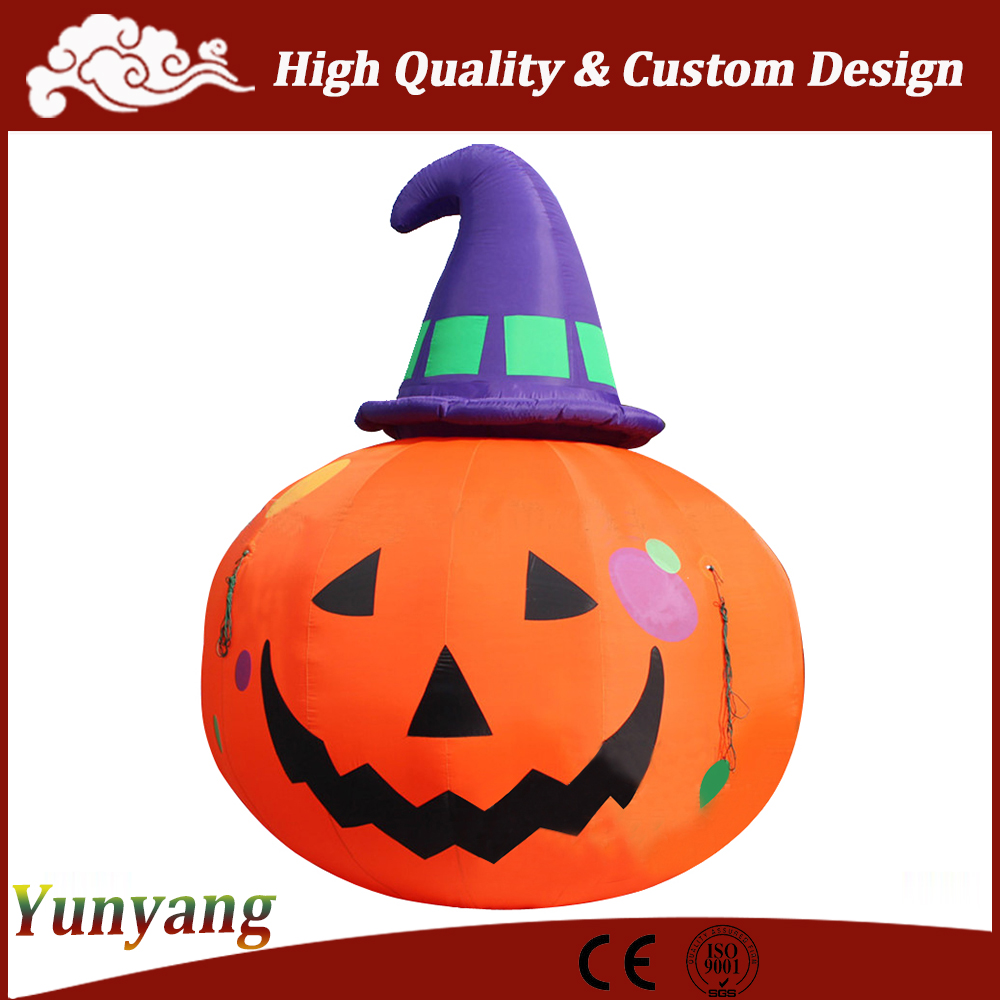 Hot sell giant halloween decoration inflatable pumpkin