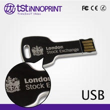 Lock Your Data Custom Print Metal Key USB Flash Drive