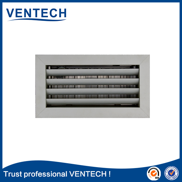hvac weather louver aluminum weatherproof gravity louvers
