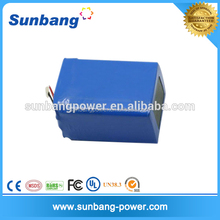 Rechargeable 26550 lifepo4 20Ah electric car battery pack 48v