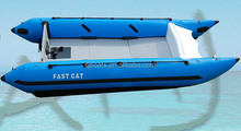 SANJ inflatable boat with high speed