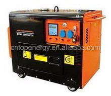 Sale indonesia 5KVA honda petrol genset kohler 5KW silent type diesel generating set with CE certificate