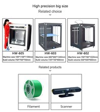 Stocking available and Free SD Card Type 3d printer HUEWAY