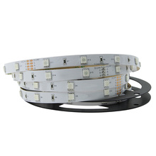 dc24v 30led/meter 10mm pcb flexible 5050 smd led strip with <strong>rgb</strong>