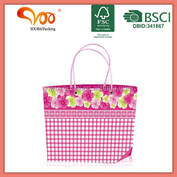 Promotional Latest Arrival Good Quality Eco-friendly led flashing shopping bags