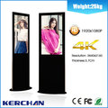MDF 4K super thin 42 ''' Hd Wireless Network Led Commercial Advertising Display Screen