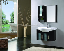 Wall Mounted Installation Type and Vanity Combo,bathroom suite Type bathroom cabinet