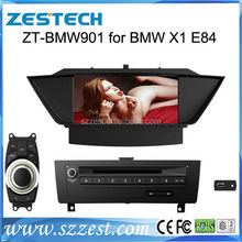 ZESTECH 2 din touch screen gps oem car stereo player for BMW E84 X1( 2009-2013 ) gps navigation
