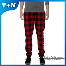 sublimation print white cheap jogging pants for men