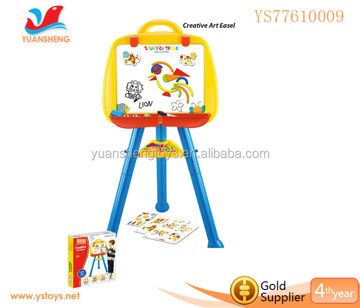 sketching easel small whiteboard funny magnetic drawing board for kids