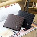 New Multifunction Man Wallets Card Holder Pocket Purse Hot Plaid Pouch Fashion