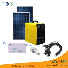 500W mini home solar generators prices electricity solar generation system for rural areas,school