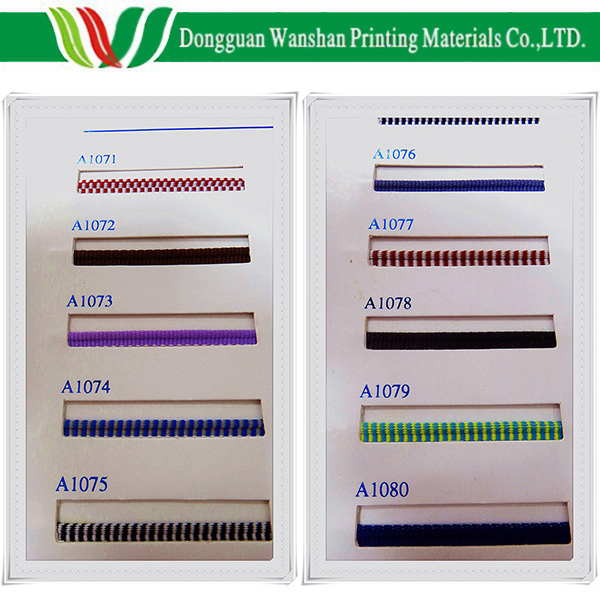 <strong>Colorful</strong> cotton material High quality Dongguan cotton material book binding band made in China cheap tail band and head band