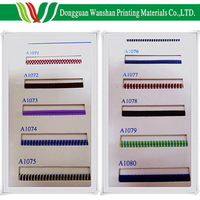 Colorful cotton material High quality Dongguan cotton material book binding band made in China cheap tail band and head band