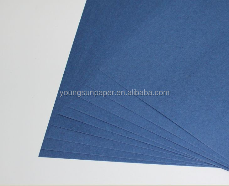 Virgin 230gsm color <strong>cards</strong> blue back paper