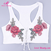 Hot Sale Fitness Manufacturer Girls White Tank Top