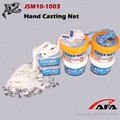 American nylon monofilament cast fishing net for catching fish