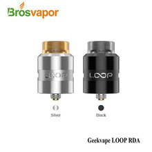 100% Original Geekvape Loop RDA Surround airflow system,easy to build loop rda for e cig