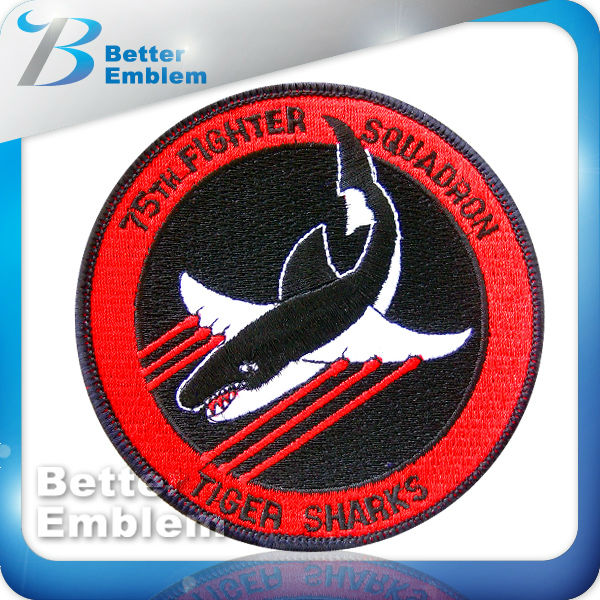 Embroidery Iron On Fish Logos Patch