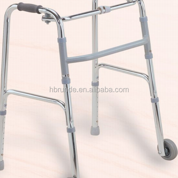Aluminum Folding Walker For Disabled