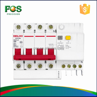 DELIXI RCBO 3 Phase Disconnect Safety Switch