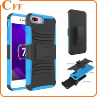 Qualified 3 in 1 Shockproof Armor Rugged Impact Hybrid Tyre Cover for iPhone 7 7plus 6 with Belt Clip Holster Phone Case Cover