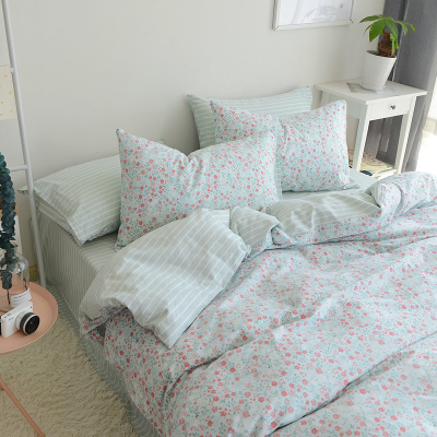 100% cotton white sateen bedding bed sheet set