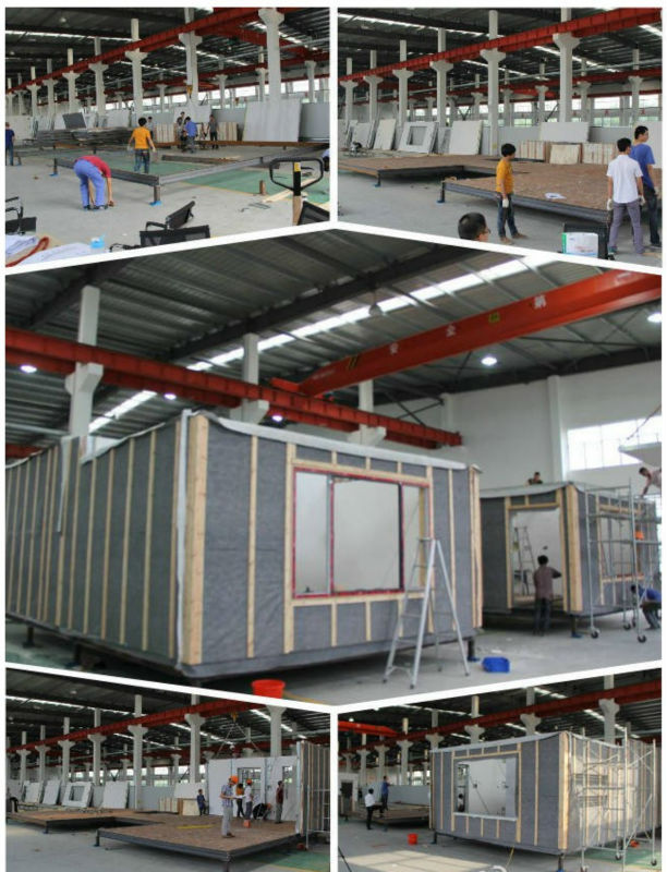 economic mobile home light steel structure sandwich panel house