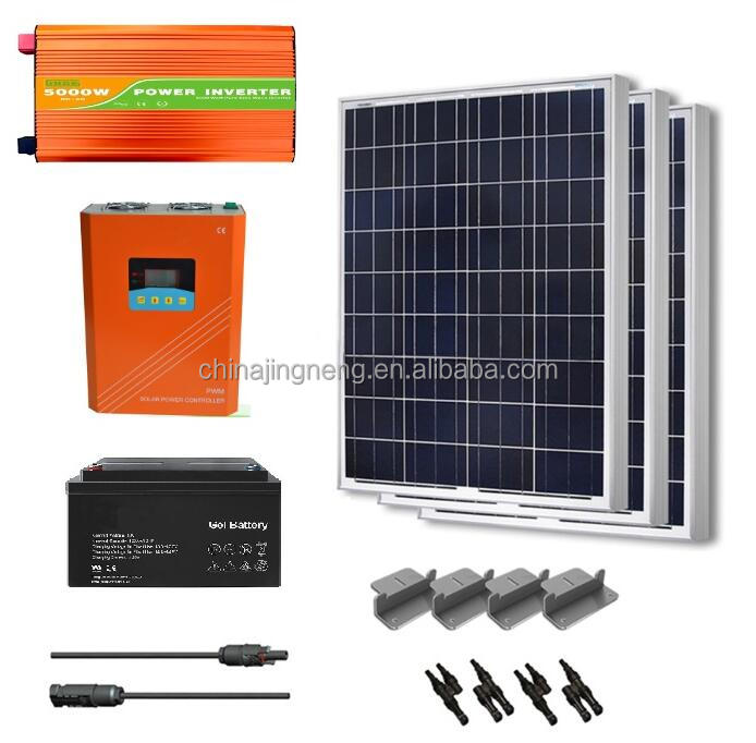 JNGE 300W 500W 1kw 2kw 3kw 5kw 10kw off grid home photovoltaic solar energy power systems