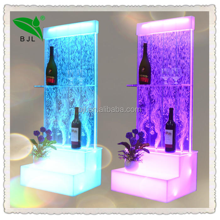 led colour changing lights showcase product bar and night club decoration