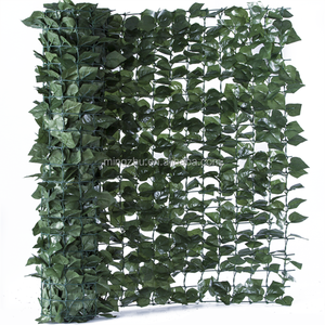 artificial pvc garden fence