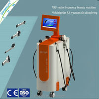 Professional Best quality control facial massager multipolar rf vaccum beauty equipment