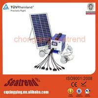 Supply Air Condition/ LED Light/Fan/PC/ Frameless 2W Small 100 Watt Solar Panel