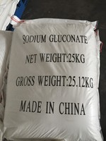 Factory offer top-selling sodium gluconate 99% as industrial cleaning chemical