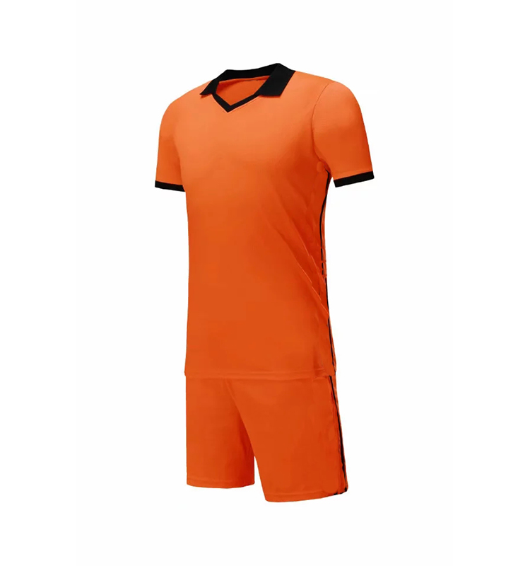 Latest Sports Wear 100% Polyester Soccer Jersey Football