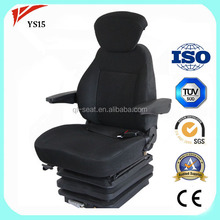 CE certificate swivel seat excavator seat with special turning YS15