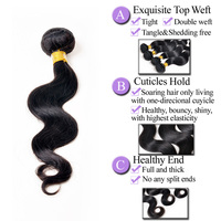 high quality mongolian body wave hair new hot products on the market