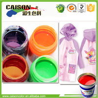 made in china color pigment for raincoat stain